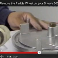 How To Remove the Paddle Wheel on your Snowie 3000 Ice Shaver