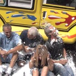 Snowie does the ALS Ice Bucket Challenge