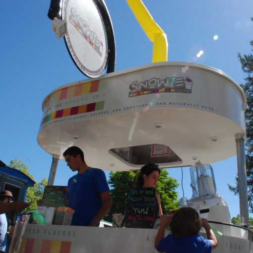 Shaved Ice Natural, Kiosk, Concession Stand