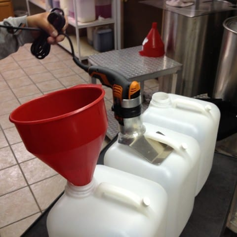Snowie Drill Mixing Tool and Mount for mixing Shaved Ice Flavors and Sugar Water