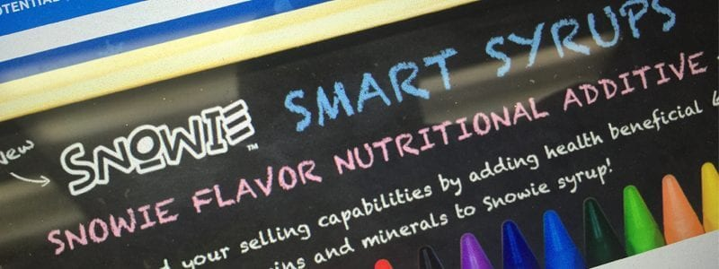 Smart Syrups, Smart Snacks, School