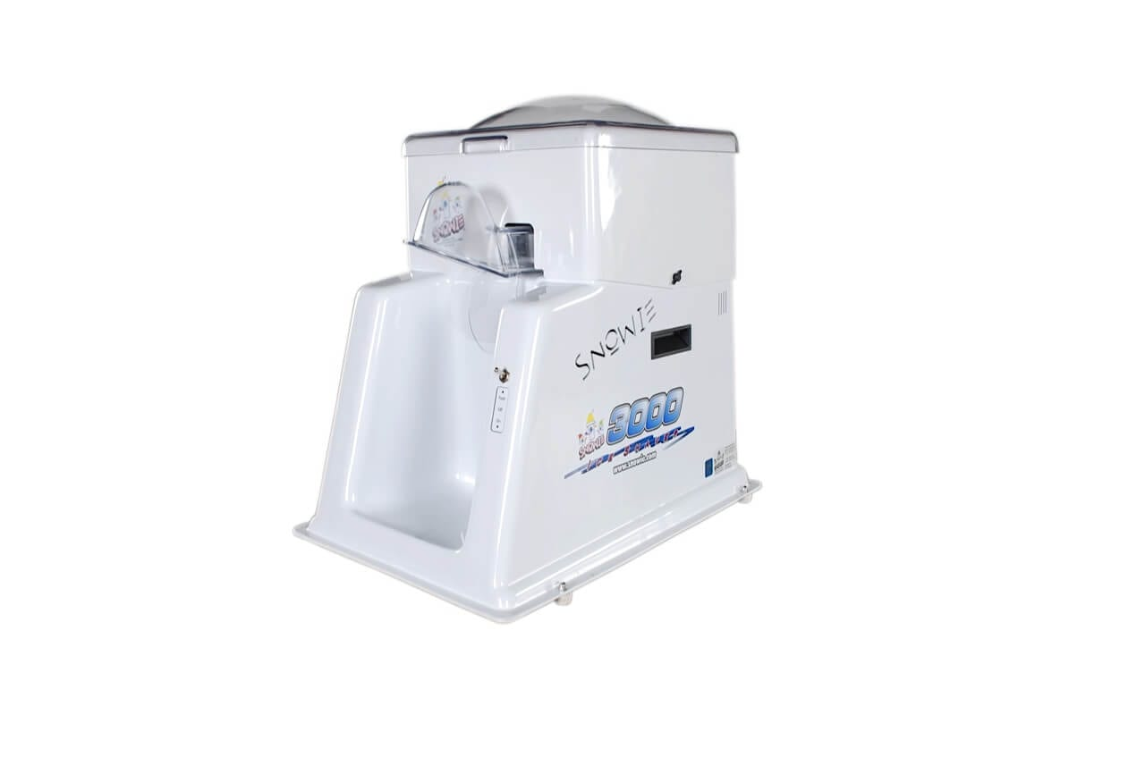 snowie commercial shaved ice shaver - Commercial Snow Cone Machine