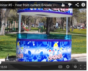 Snowie Shaved Ice Webinar #5 – Hear from current Snowie vendors