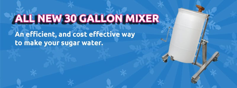 30 Gallon Mixer