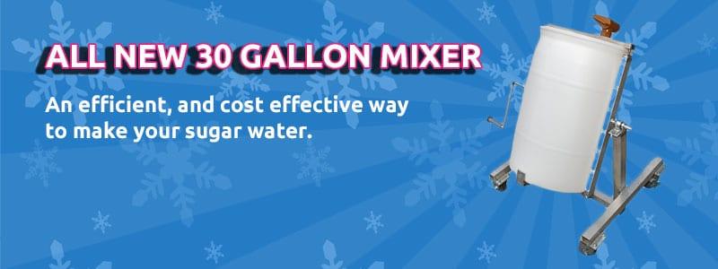 30 Gallon Mixer