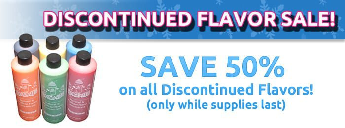 Snowie Discontinued Flavor Sale