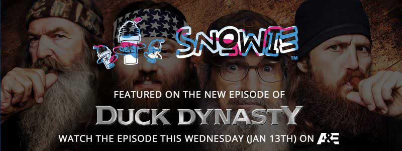 Snowie Featured Duck Dynasty
