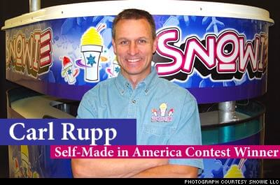 Self Made in America - Carl Rupp of Snowie Shaved Ice