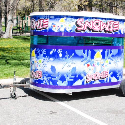 Snowie Kiosk, Shaved Ice, Shaved Ice Stand