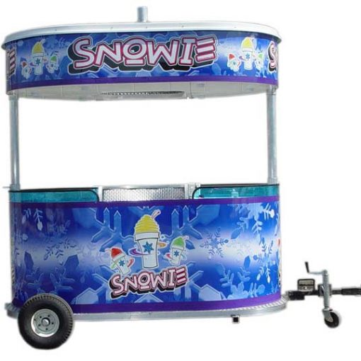 Snowie 8 Foot Kiosk