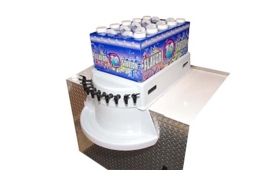 Snowie Counter Top Flavor Station