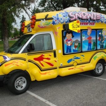Snowie Bus - Shaved Ice on Wheels
