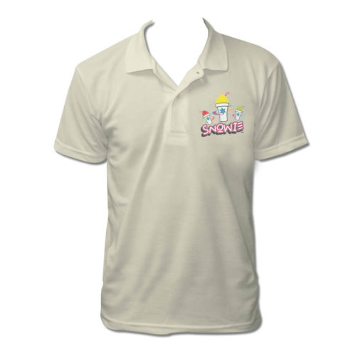 Snowie Cream Polo Shirt