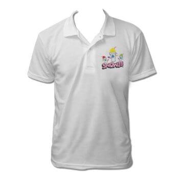 Snowie White Polo Shirt