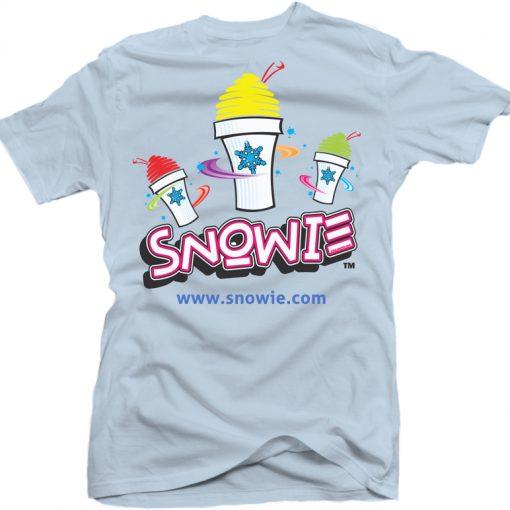 Snowie T-Shirt - Light Blue