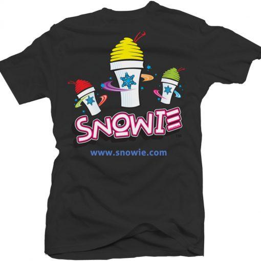Snowie T-Shirt Black