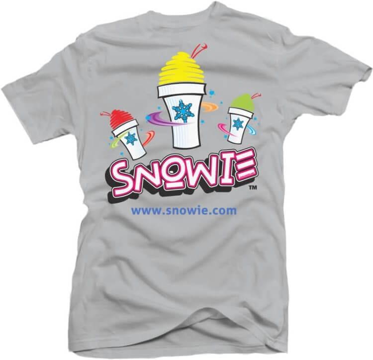 Snowie T-Shirt - Gray