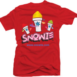 Snowie T-Shirt - Red