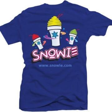 Snowie T-Shirt - Royal Blue