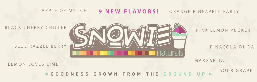 New Flavors for Snowie Naturals