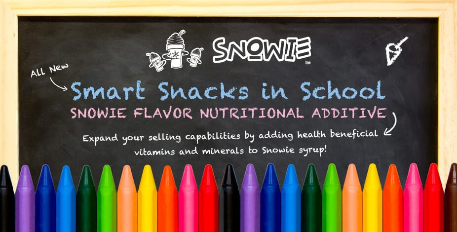 Smart Snacks in Schools Shaved Ice Flavor Additive