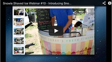 Snowie Webinar #10 - Introducing Snowie Naturals, Natural Shaved Ice Flavors / Natural Sno Cone Syrups
