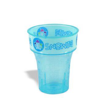 A picture of a single Snowie branded souvenir cup!
