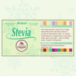 Stevia Sugar Free Syrup for Shaved Ice