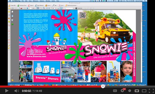 Snowie Catalog
